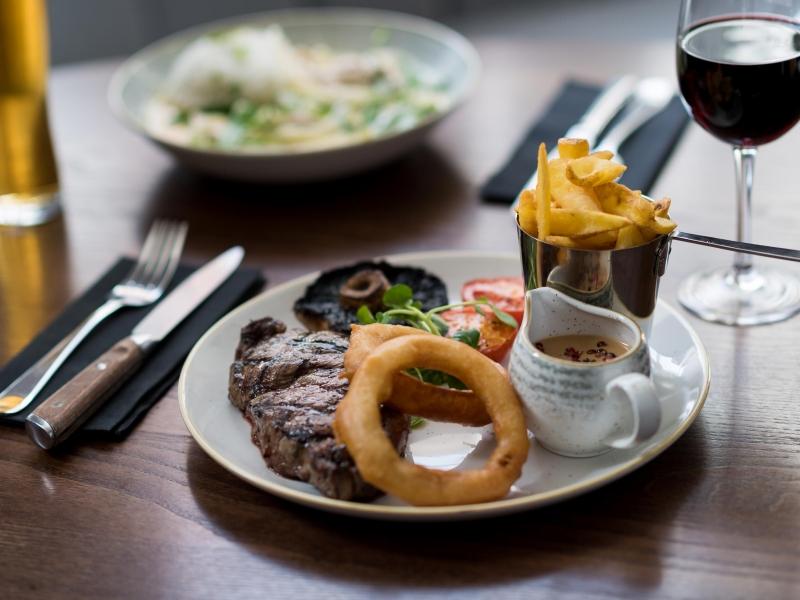 Steaks at 62 The Bank Barnstaple North Devon