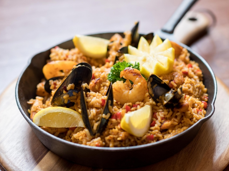 Authentic Spanish Paella at 62 The Bank Barnstaple