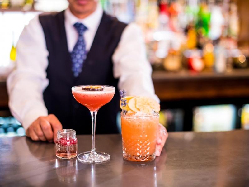 Cocktails at Barnstaple's New Cocktail Bar Bar62