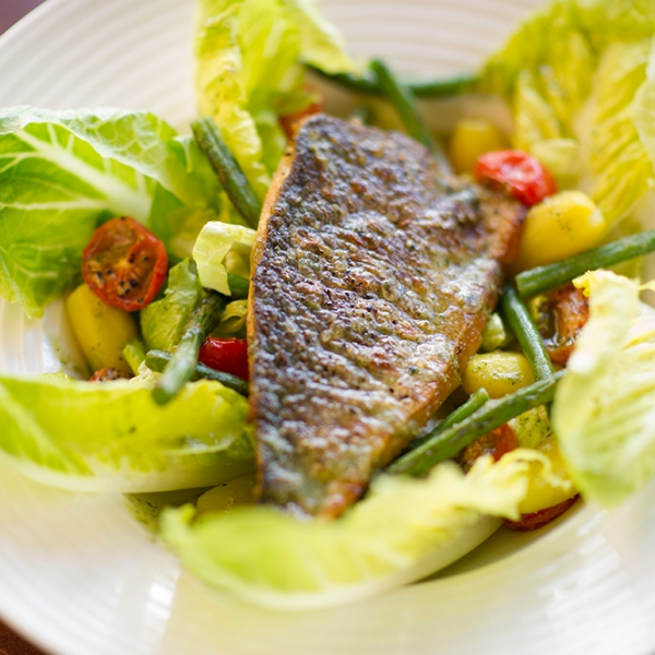 Sea Bream Nicoise Salad