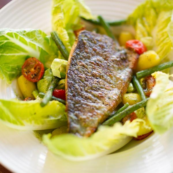 Sea Bream Nicoise Salad