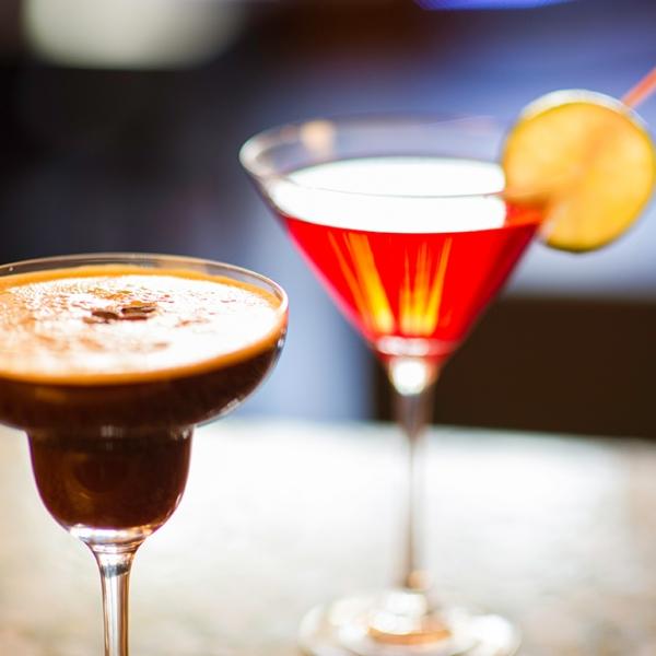 Espresso Martini & Cosmopolitan