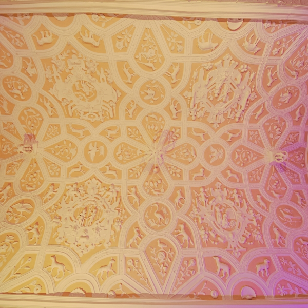 Our main Jacobean Ceiling