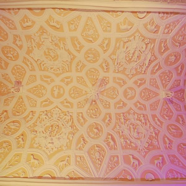 Our main Jacobean Ceiling