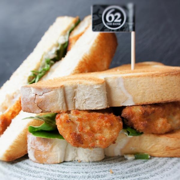 Posh Fish Finger Sandwich